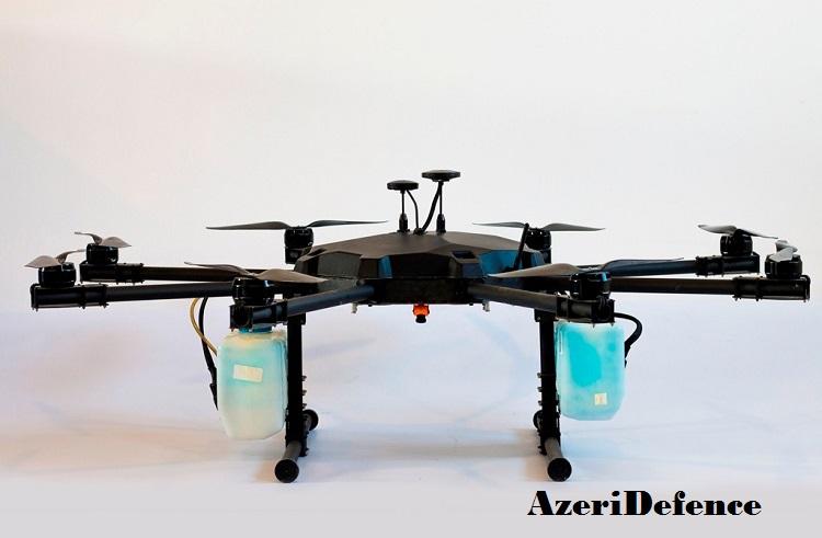 Azərbaycanda ərazilərin dezinfeksiya edilməsi üçün dron hazırlandı