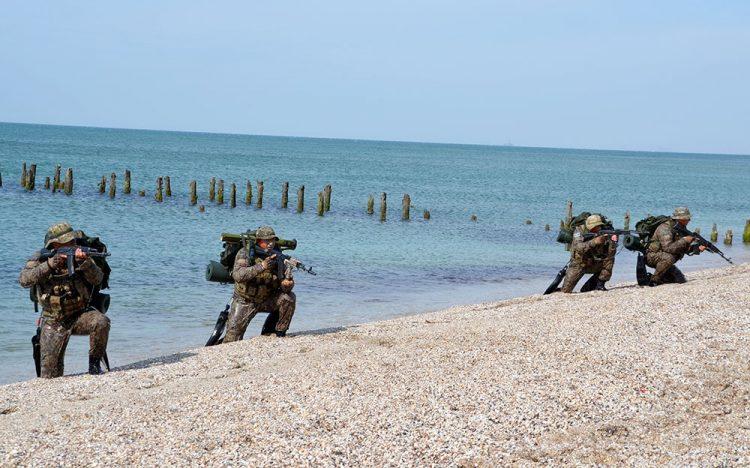 Hərbi Dəniz Qüvvələrinin taktiki təlimi başa çatıb – VİDEO