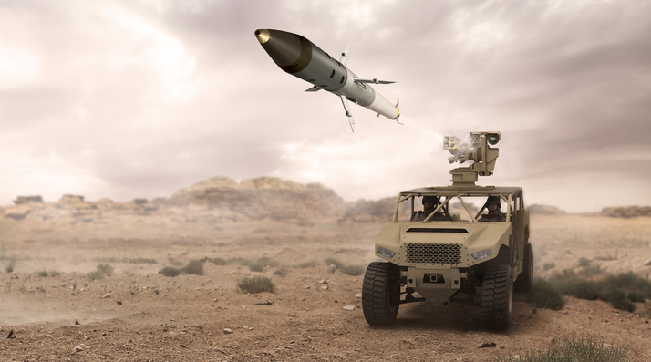 APKWS raketinin nəqliyyat vasitəsi üzərindən sınaq atışları keçirilib