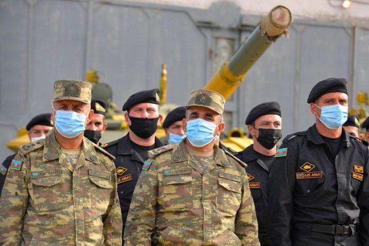 """""""Tank biatlonu"""" müsabiqəsində iştirak edən komandaların püşkatması keçirilib"""