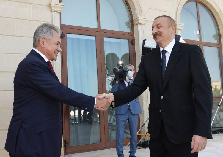 Prezident İlham Əliyev Rusiyanın Müdafiə nazirini qəbul edib – YENİLƏNİB
