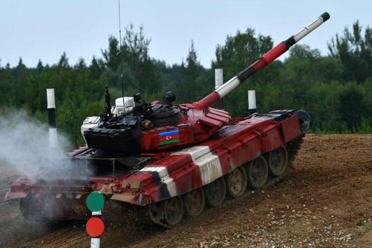 """Azərbaycan tankçıları """"Tank biatlonu"""" müsabiqəsində yarımfinal mərhələsinə yüksəlib – VİDEO"""