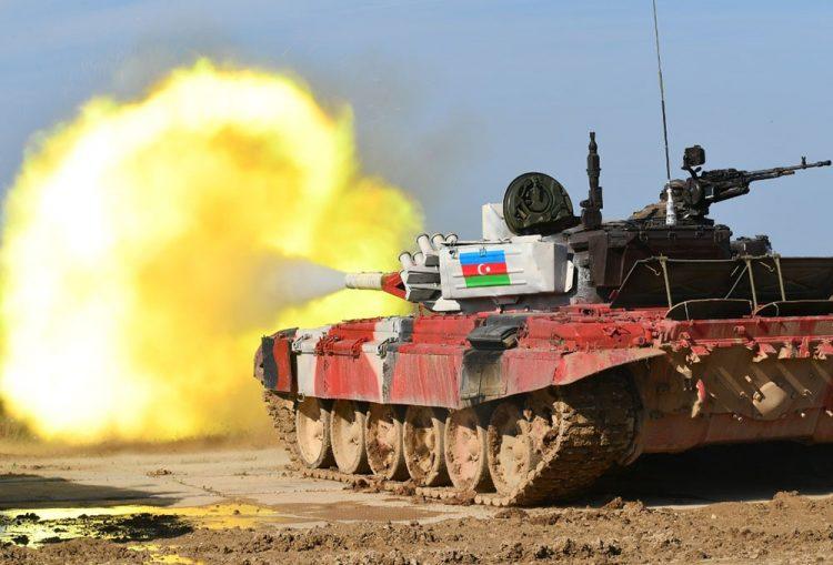 """Azərbaycan tankçıları """"Tank biatlonu"""" müsabiqəsində final mərhələsinə yüksəlib"""