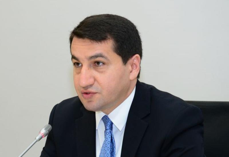 """Prezidentin köməkçisi: Ermənistan ordusu tərəfindən Bərdəyə """"Smerç""""dən kasetli raketlər atılıb"""