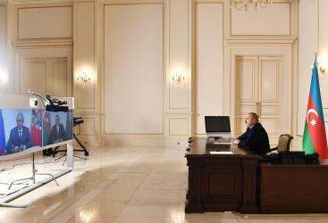 İlham Əliyev və Vladimir Putin videokonfrans formatında görüşüblər