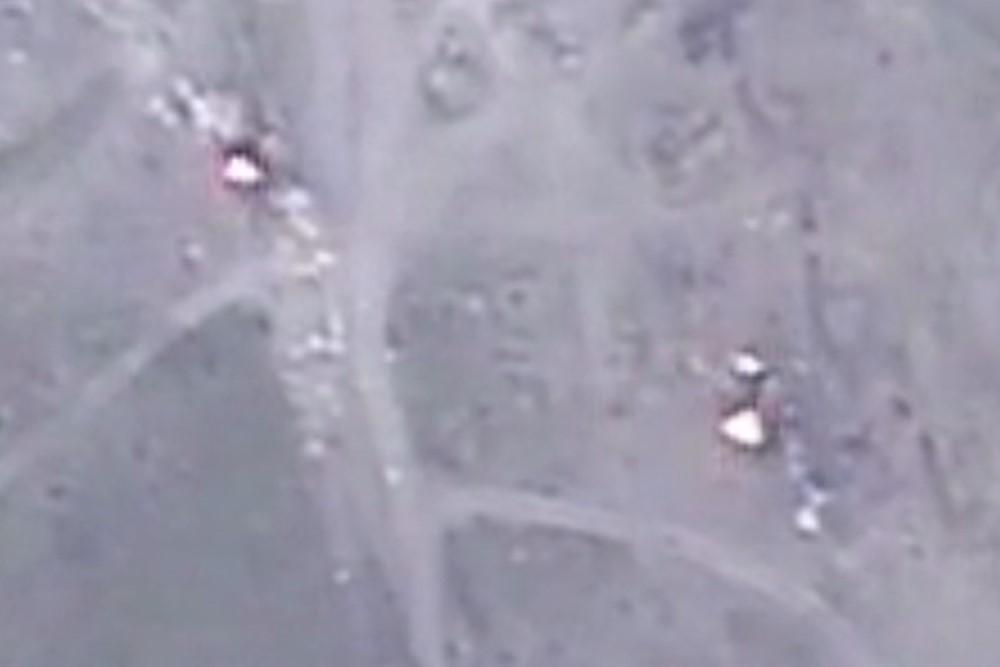 Ermənistan silahlı qüvvələrinin döyüş mövqelərinə zərbələr endirilib – VİDEO