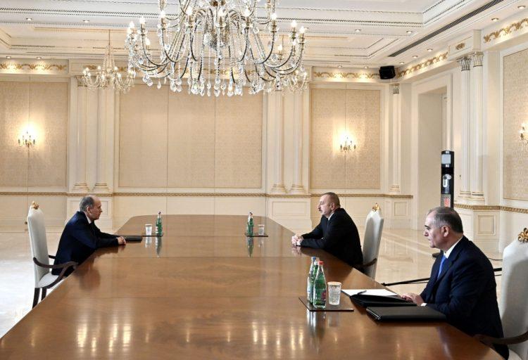 Prezident İlham Əliyev Rusiya Federal Təhlükəsizlik Xidmətinin direktorunu qəbul edib