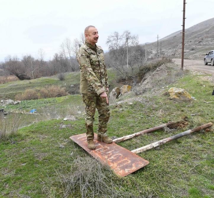 """Prezident İlham Əliyev: """"Ermənistan təslim oldu, ağ bayraq qaldırdı, diz çökdü"""""""