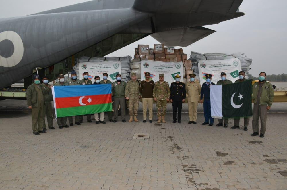 Pakistan Azərbaycana yardım göndərib – FOTO