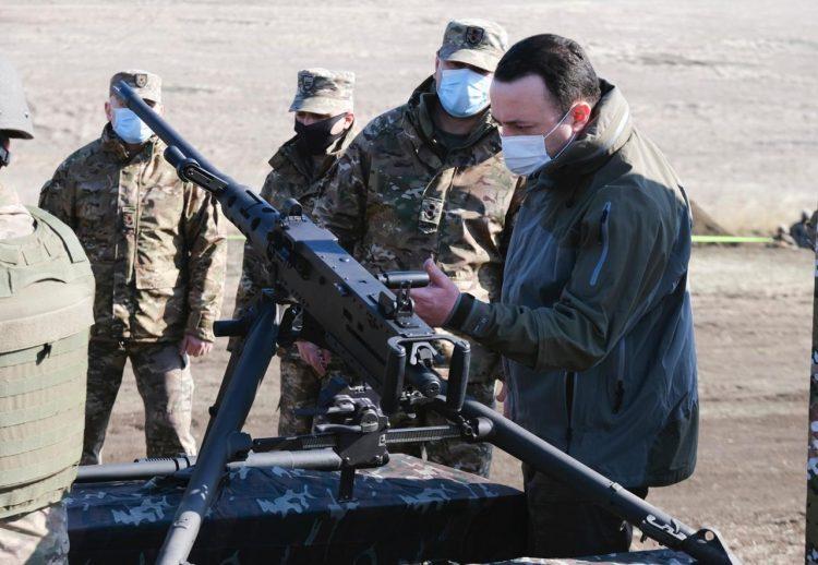 Gürcüstan Ordusu yeni silahlarla təchiz edilib
